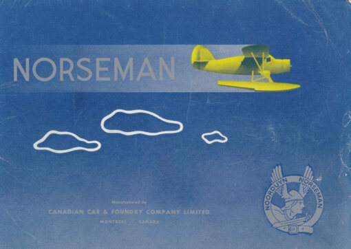 Flight Manual for the Noorduyn UC-64 Norseman