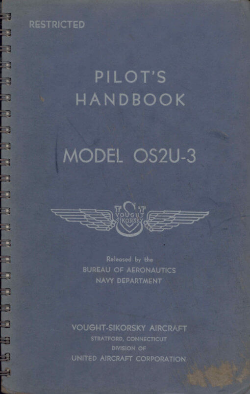 Flight Manual for the Vought OS2U-3