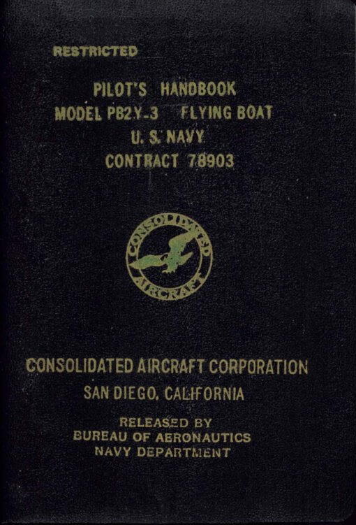 Flight Manual for the Consolidated PB2Y Coronado