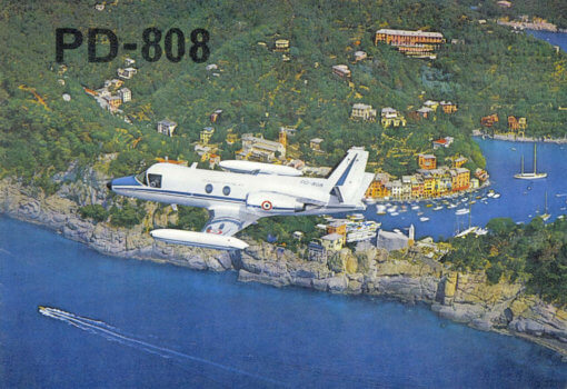 Flight Manual for the Piaggio PD808