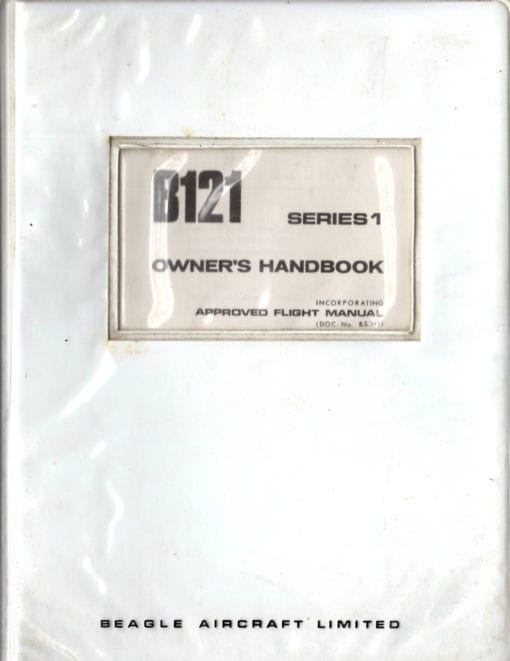 Flight Manual for the Beagle 121 Pup