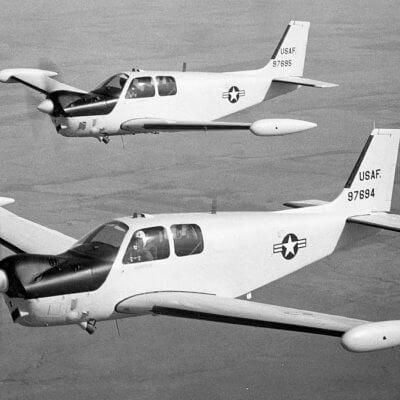 Flight Manual for the Beechcraft QU-22