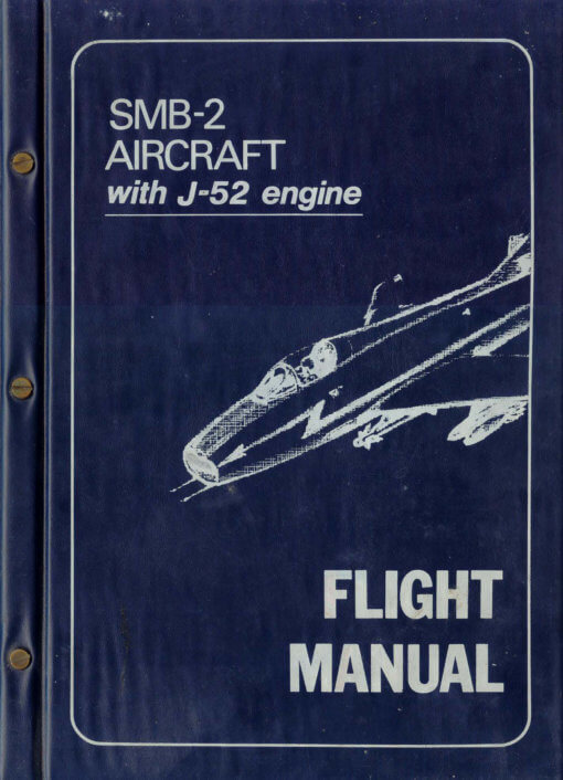 Flight Manual for the Dassault Super Mystere