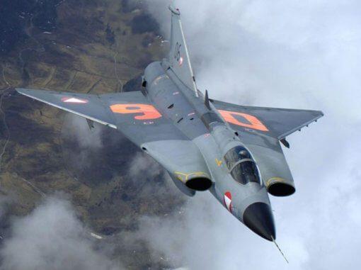 Flight Manual for the Saab 35 Draken