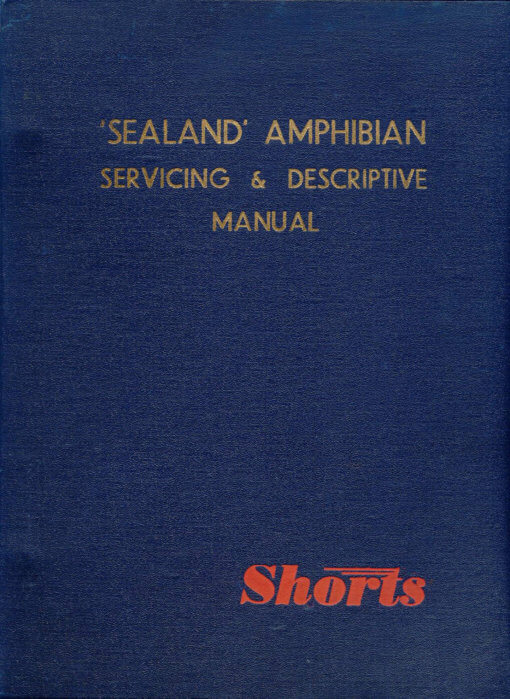 Flight Manual for the Short SA6 Sealand