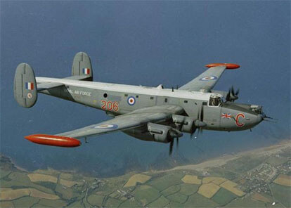 Flight Manual for the Avro 696 Shackleton