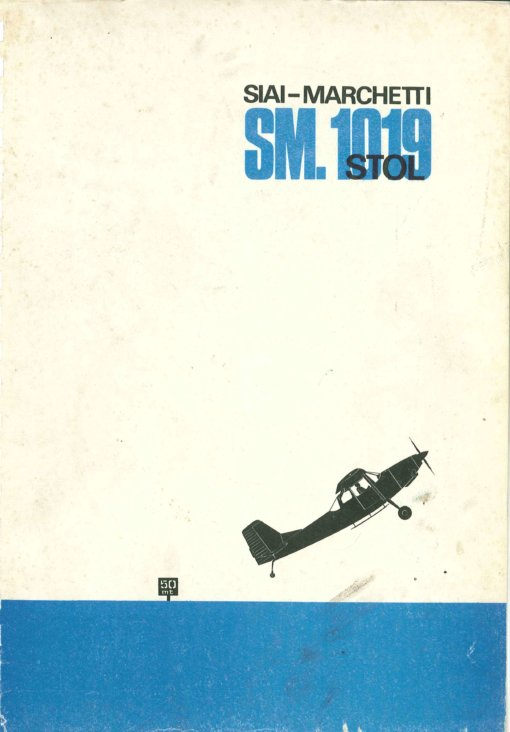 Flight Manual for SIAI-Marchetti SM1019