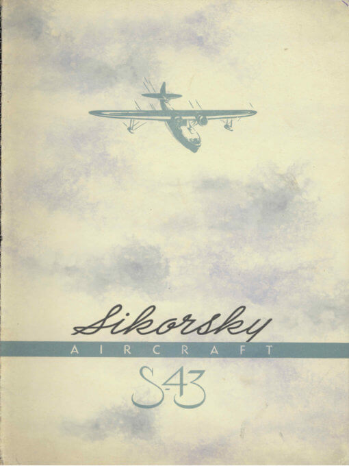 Flight Manual for the Sikorsky VS-44A