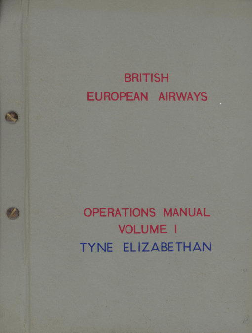 Flight Manual for the Airspeed Ambassador