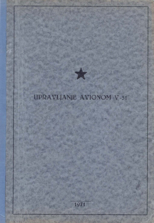 Flight Manual for the UTVA-66