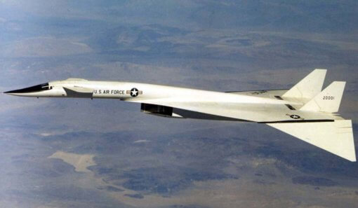 Flight Manual for the North American XB-70 Valkyrie