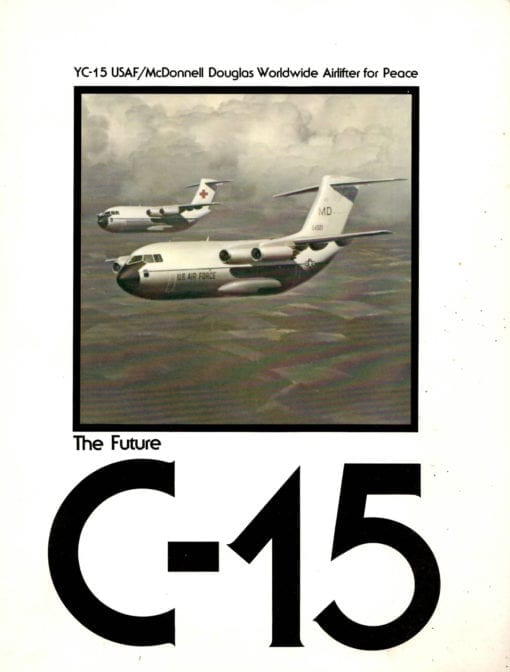 Flight Manual for the McDonnell-Douglas YC-15