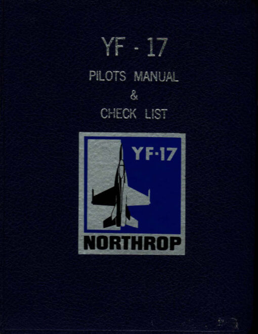 Flight Manual for the Northrop YF-17