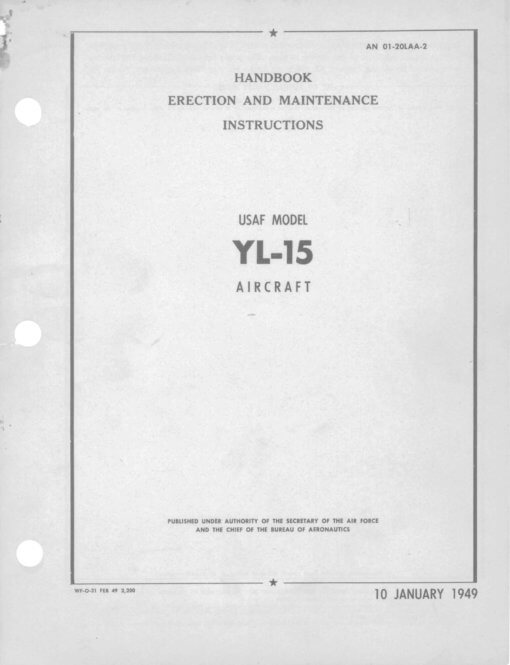 Flight Manual for the Boeing YL-15 Scout