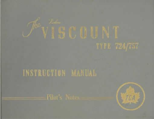 Flight Manual for the Vickers Viscount