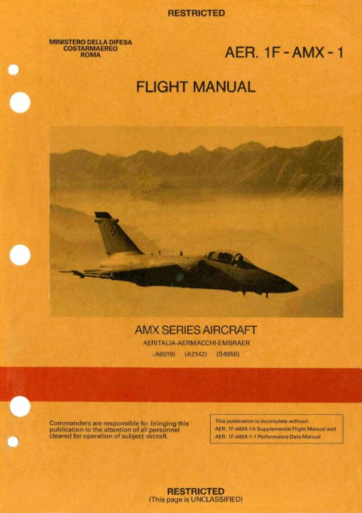 Flight Manual for the AMX
