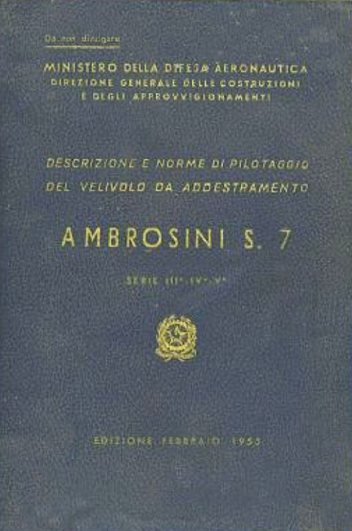 Flight Manual for the Ambrosini S.7