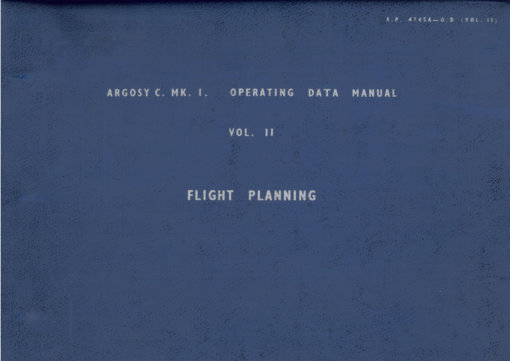 Flight Manual for the Armstrong Whitworth Argosy