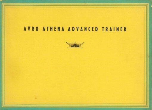 Flight Manual for the Avro 701 Athena
