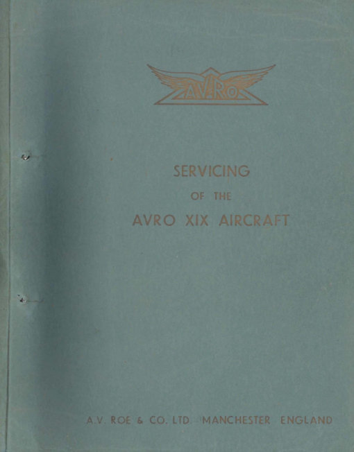 Flight Manual for the Avro Anson