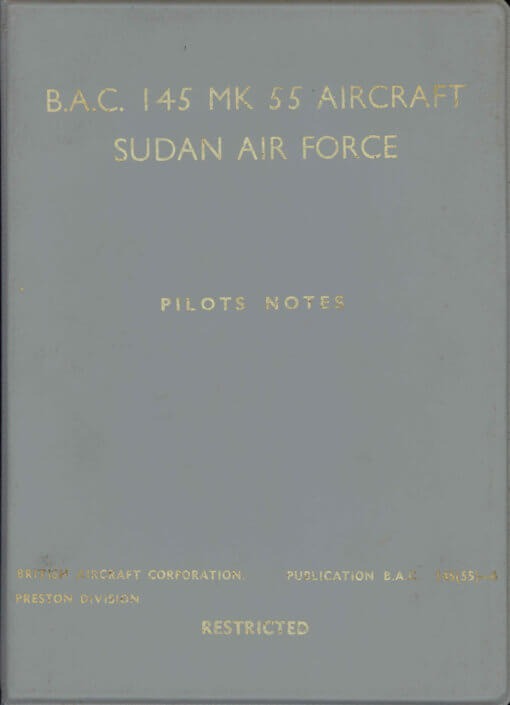 Flight Manual for the BAC 145 Jet Provost