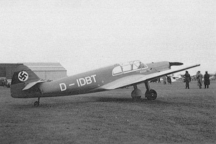 Flight Manual for the Messerschmitt ME-108