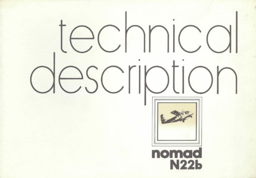 Flight Manual for the Government Aircraft Factories N22 Nomad