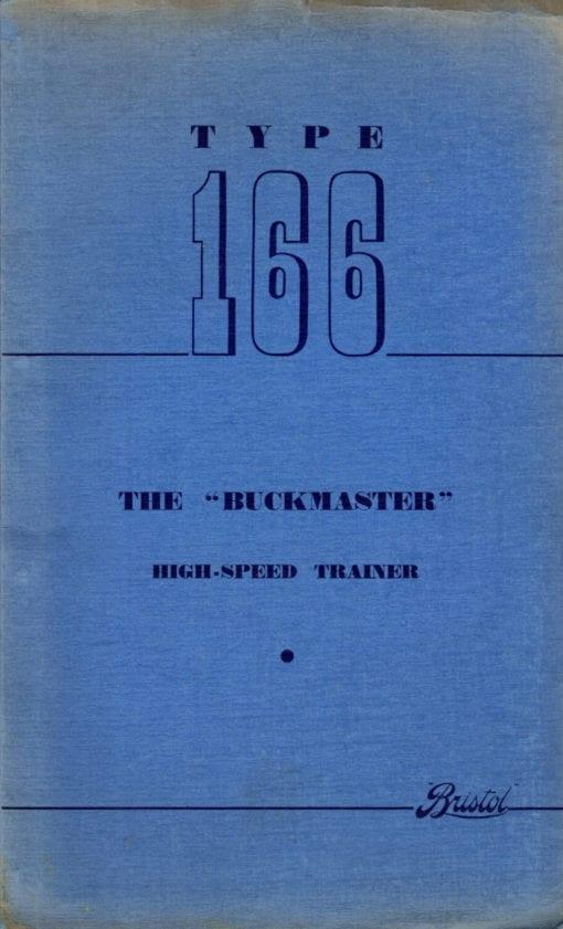 Flight Manual for the Bristol Buckmaster