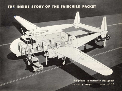 Flight Manual for the Fairchild C-82 Packet