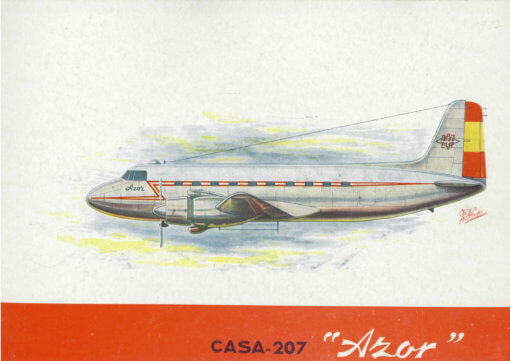 Flight Manual for the CASA 207 Azor
