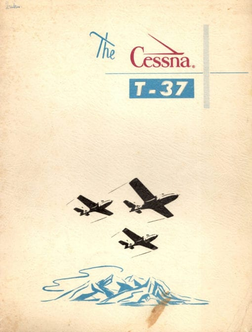 Flight Manual for the Cessna T-37 Tweet