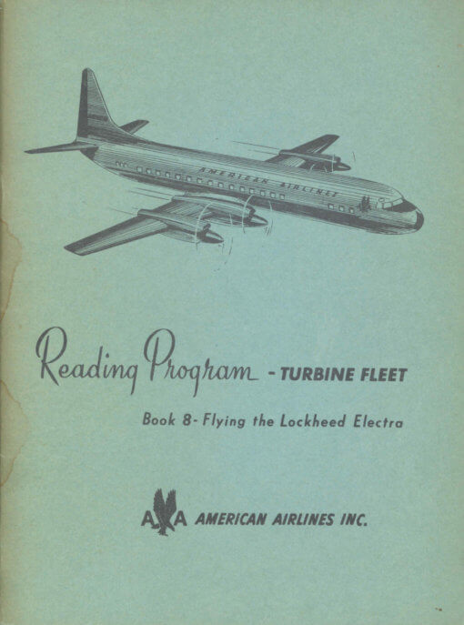 Flight Manual for the Lockheed L188 Electra
