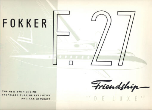 Flight Manual for the Fokker F-27 Friendship
