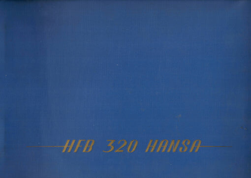 Flight Manual for the HFB320 Hansa Jet