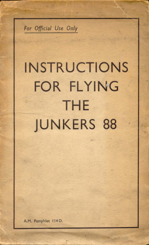 Flight Manual for the Messerschmitt Me109