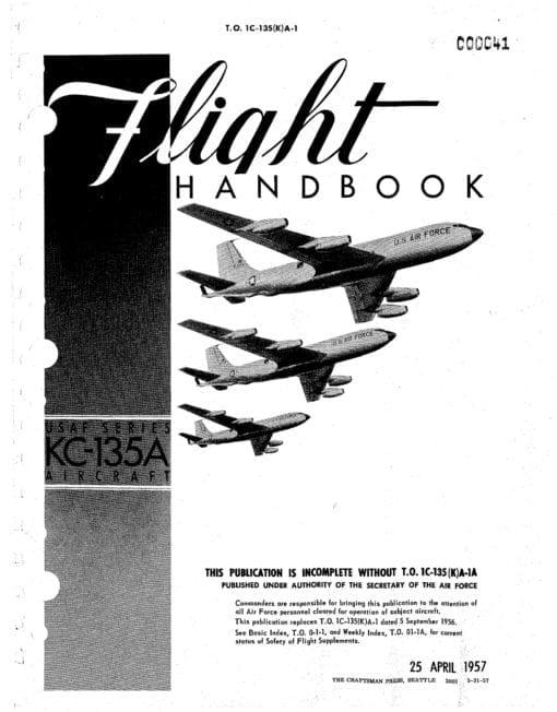Flight Manual for the Boeing KC-135 Stratotanker