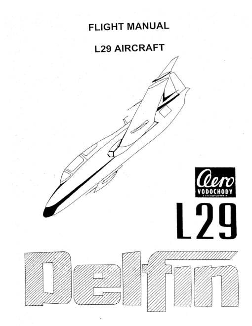 Flight Manual for the Aero Vodochody L29 Delphin