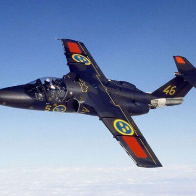 Flight Manual for the Saab 105 Sk60
