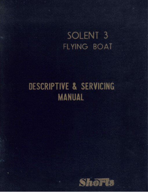Flight Manual for the Short S45 Solent