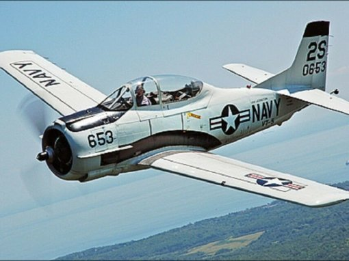 Flight Manual for the North American T-28