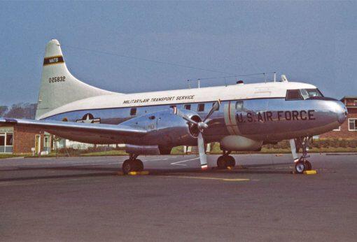 Flight Manual for the Convair T-29 C-131 240 340 440 540 580 Cosmopolitan