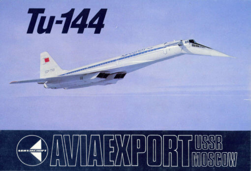 Flight Manual for the Tupolev TU144