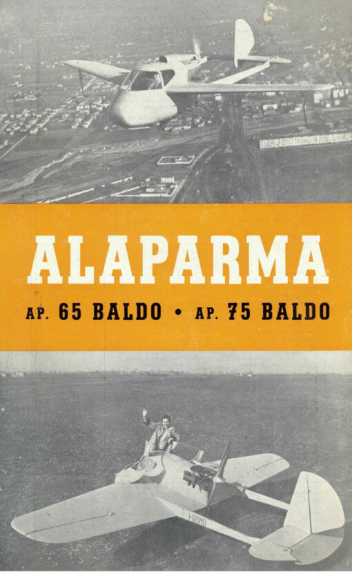 Flight manual for the Alaparmo Baldo