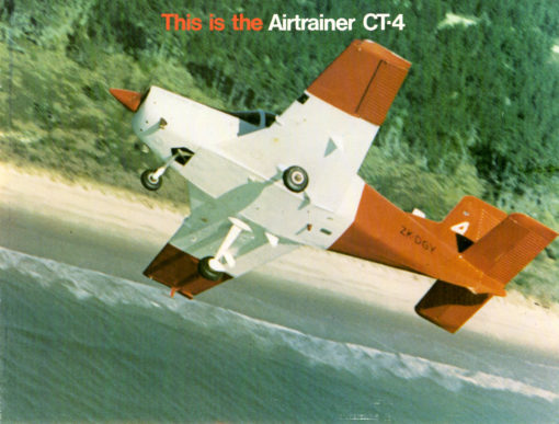 Flight Manual for the Pacific Aerospace CT/4 Airtrainer