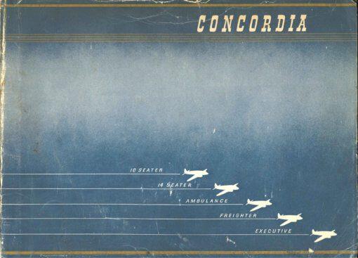 Flight Manual for the Cunliffe-Owen Concordia