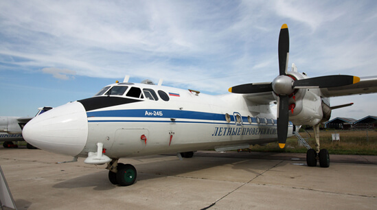 Flight Manual for the Antonov AN-24