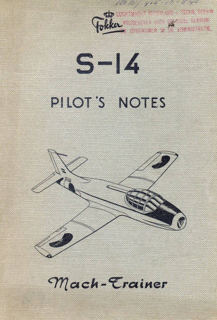 Flight Manual for the Fokker S.14 Mach Trainer