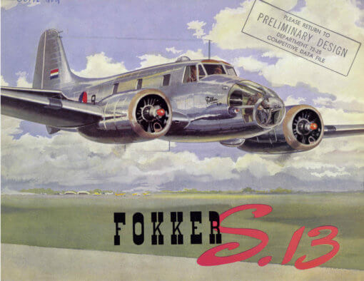 Flight Manual for the Fokker S.13