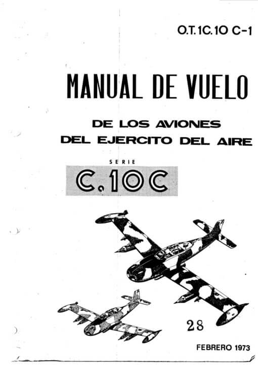 Flight Manual for the HA-200 Saeta