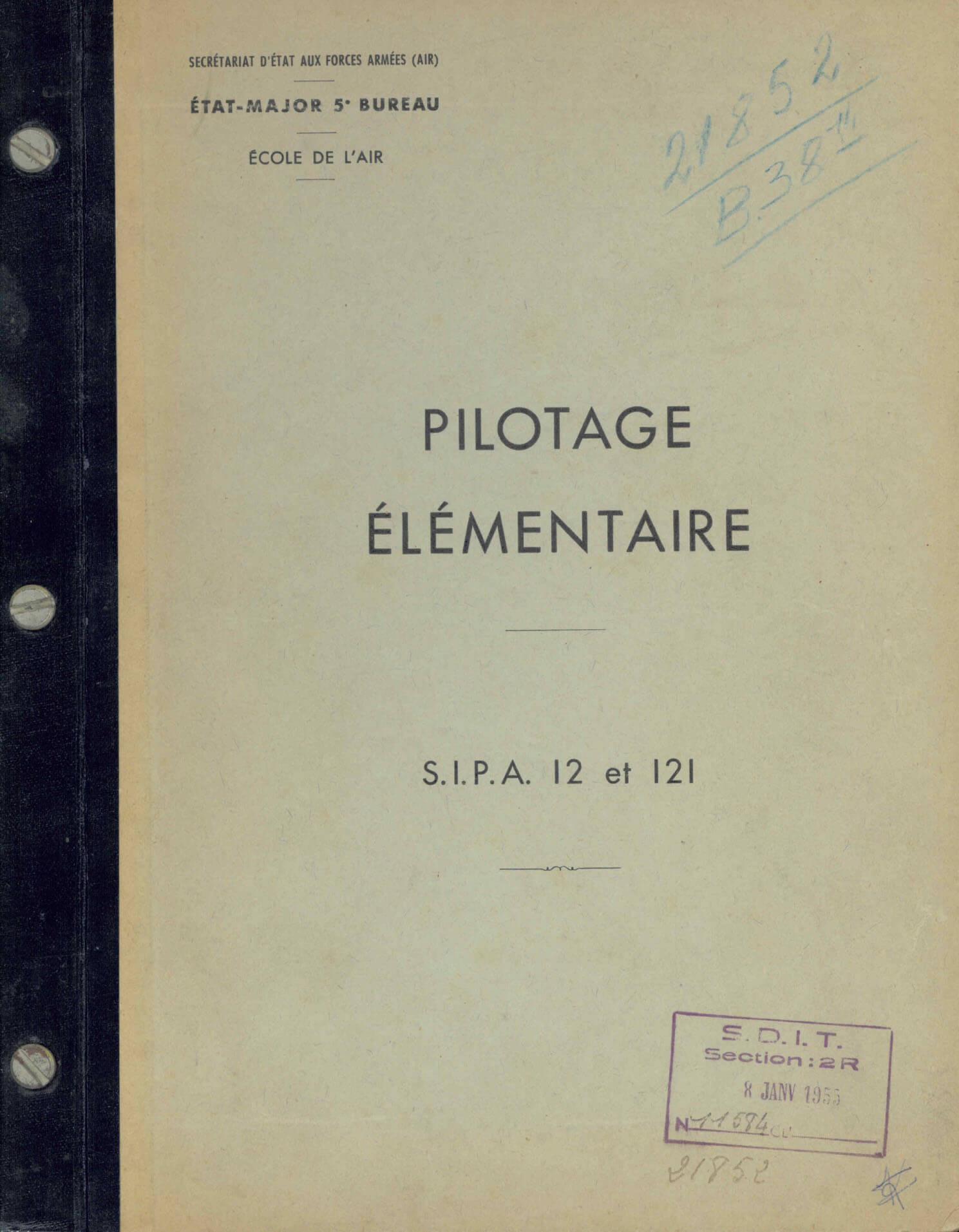 Flight Manual for the SIPA S.12 and S.121
